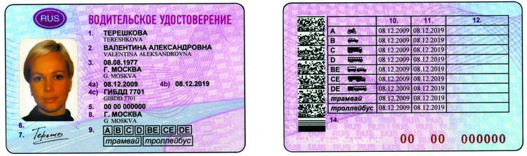 требование к фото на водительское удостоверение нового образца